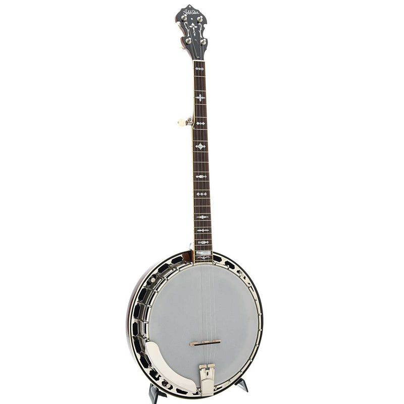 Gold Star GF-100JD Bluegrass Album Resonator Banjo with Case