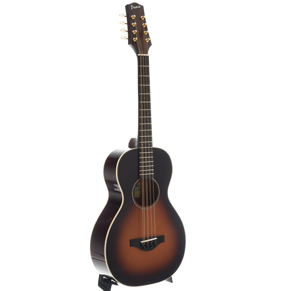 Pono MD-20SB Flat-top Octave Mandolin, Deluxe Small Body, Short Scale
