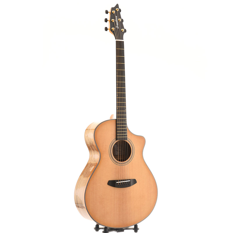 Breedlove Organic Artista Concert Natural Shadow CE Torrefied European - Myrtlewood Acoustic-Electric Guitar