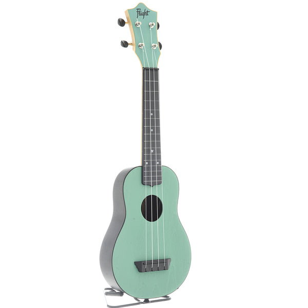 Flight TUS35 Travel Series Soprano Ukulele, Light Blue