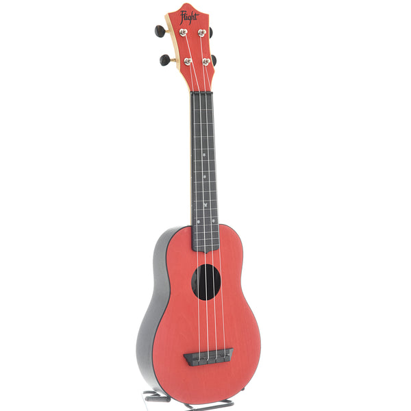 Flight TUS35 Travel Series Soprano Ukulele, Red