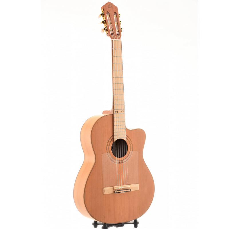 ORTEGA RCE179SN-25TH FLAMENCO CLASSICAL GUITAR, With Pickup