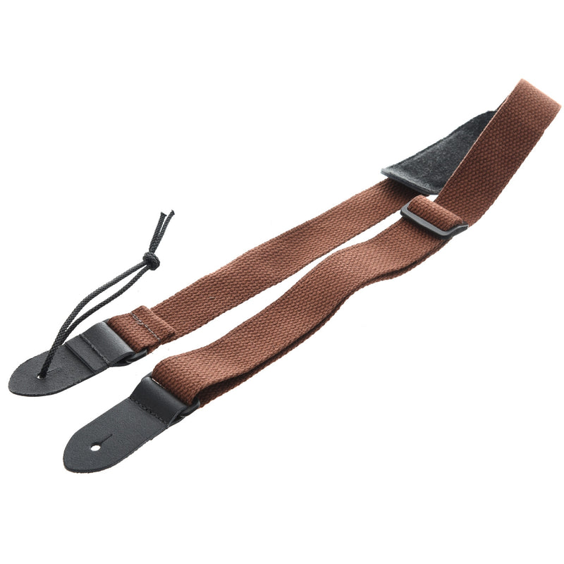 Kala Cotton Cloth Ukulele Strap, Brown