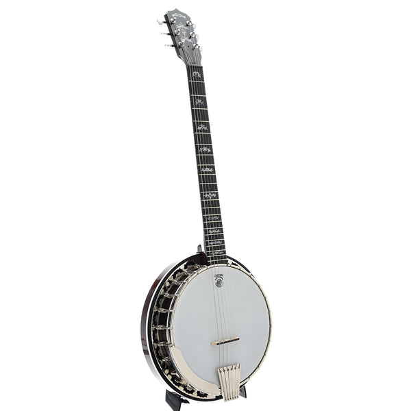 Deering Eagle II 6-String Banjo Guitar & Case