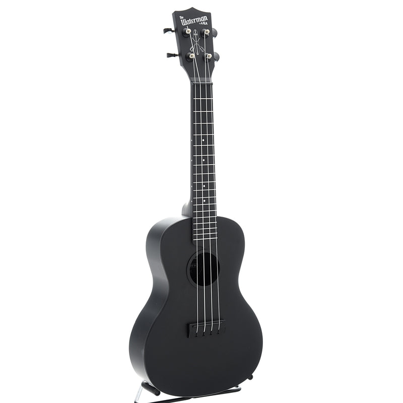 Kala Waterman KA-CWB Concert Ukulele with Carrying Bag, Matte Black