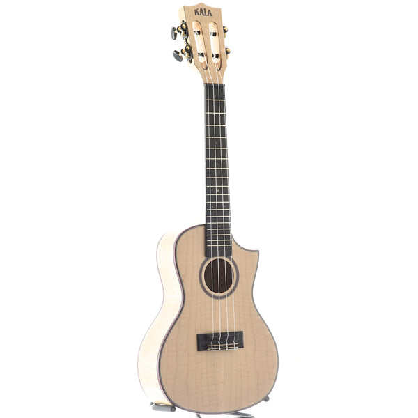 Kala KA-ASFM-C-C All Solid Flame Maple Concert Ukulele