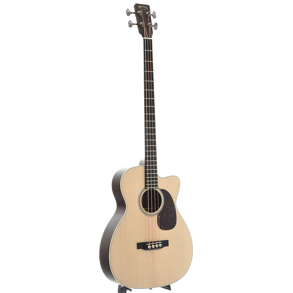 Martin BC-16E Acoustic-Electric Bass Guitar & Gigbag, Fishman Matrix VT Enhance Pickup