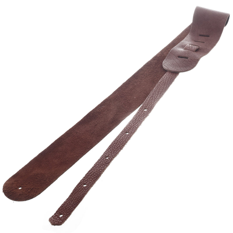 "LAKOTA LEATHERS 3"" GUITAR STRAP, TOBACCO"