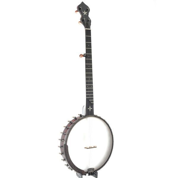 "Ome Wizard 12"" Openback Banjo & Case, Curly Maple"