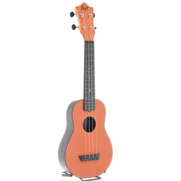 Flight TUS35 Travel Series Soprano Ukulele, Orange