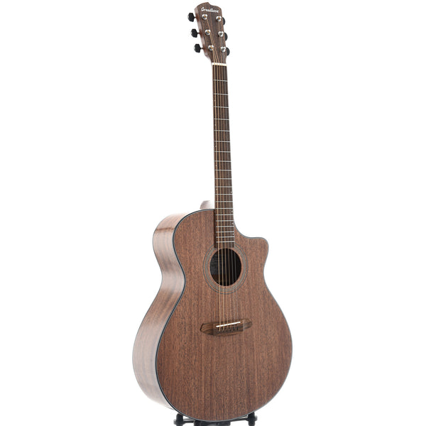 Breedlove Organic Wildwood Concerto Satin CE African Mahogany - African Mahogany Acoustic-Electric Guitar