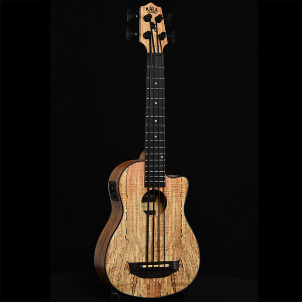 Kala U-Bass Spalted Maple Fretted Mini-Bass