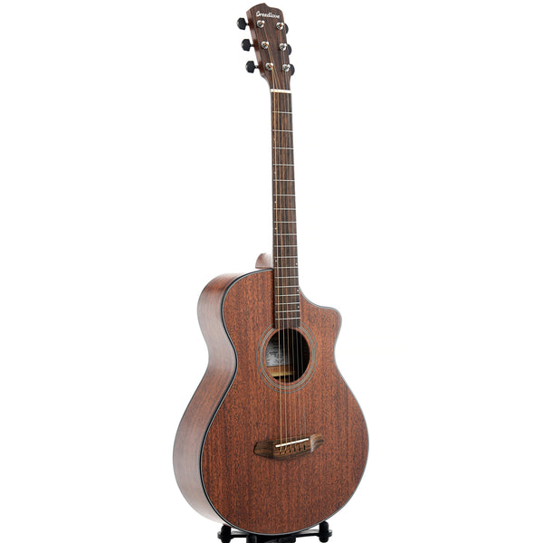 Breedlove Organic Wildwood Concertina Satin CE African Mahogany - African Mahogany Acoustic-Electric Guitar