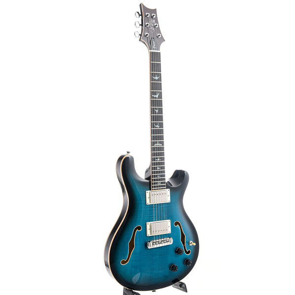PRS SE Hollowbody II Piezo Peacock Blue Burst