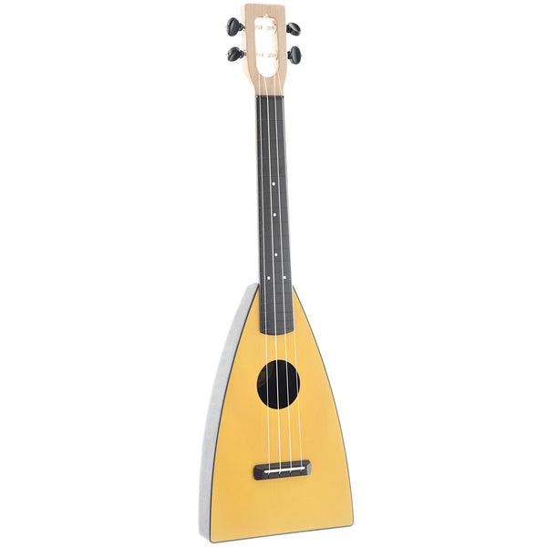 MAGIC FLUKE COMPANY FLUKE UKULELE, TENOR, CITRINE YELLOW FINISH WITH GIGBAG
