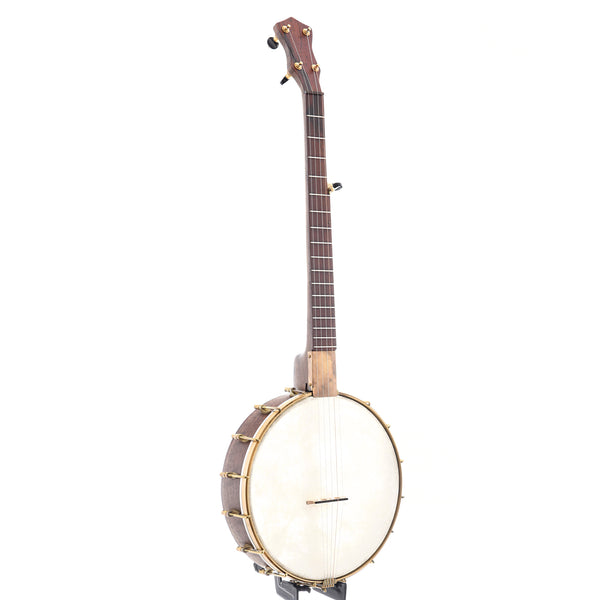 "Dogwood Banjo Co. 12"" Walnut Openback LH (c.2018)"