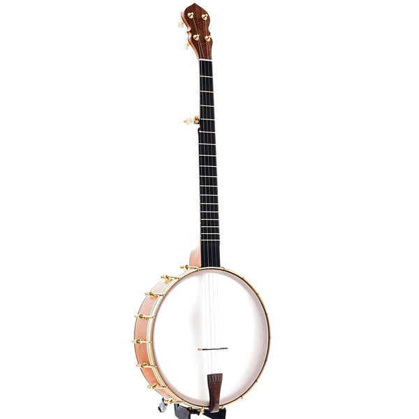 "C. Waldman 12"" Chromatic (Step-Side) Openback Banjo, No. 127"