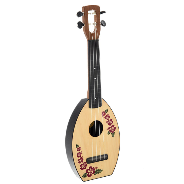 Magic Fluke Company Flea Ukulele, Soprano, Island Design with Gigbag