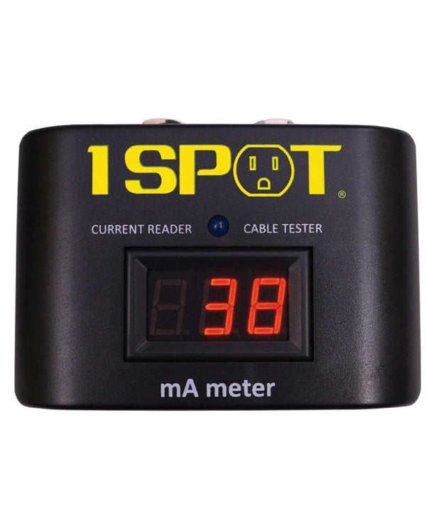 Truetone 1-Spot Ma Meter Effect Pedal Milliamp Meter and Cable Tester by Truetone