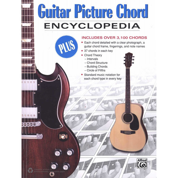 Guitar Picture Chord Encyclopedia-The Ultimate Guitar Chord Reference Book