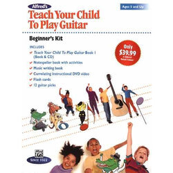 Alfred's Teach Your Child to Play Guitar Beginner'S Kit