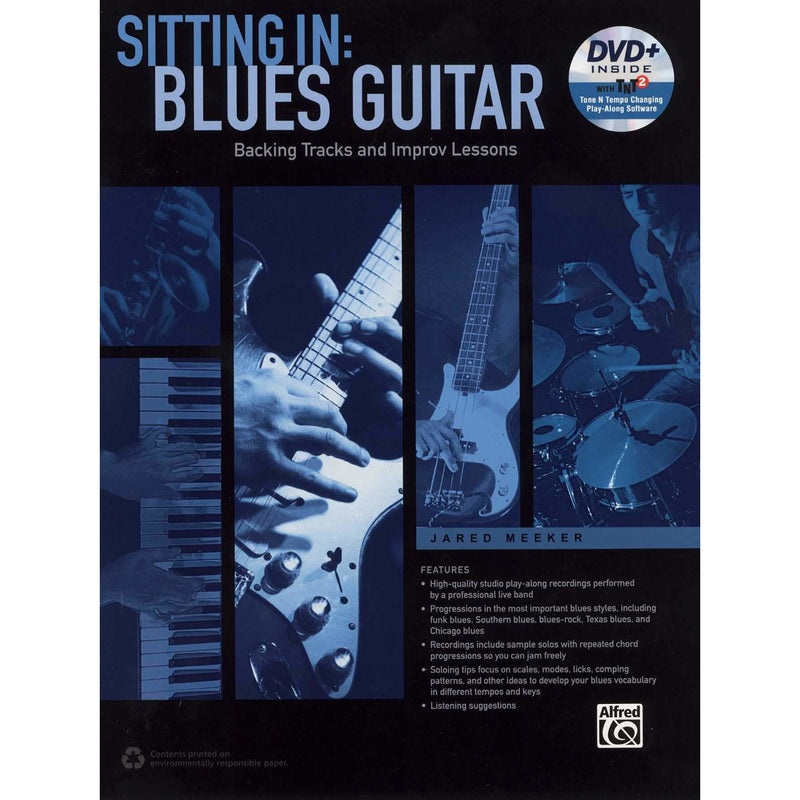 Sitting In: Blues Guitar, Backing Tracks and Improv Lessons