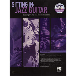 Sitting In: Jazz Guitar, Backing Tracks and Improv Lessons