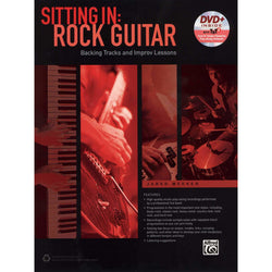 Sitting In: Rock Guitar, Backing Tracks and Improv Lessons