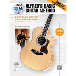 Alfred's Basic Guitar Method Complete - Third Edition