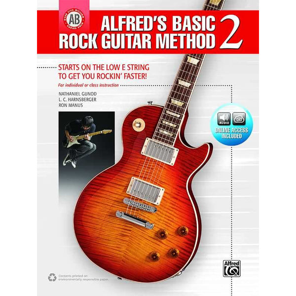Alfred's Basic Rock Guitar Method 2