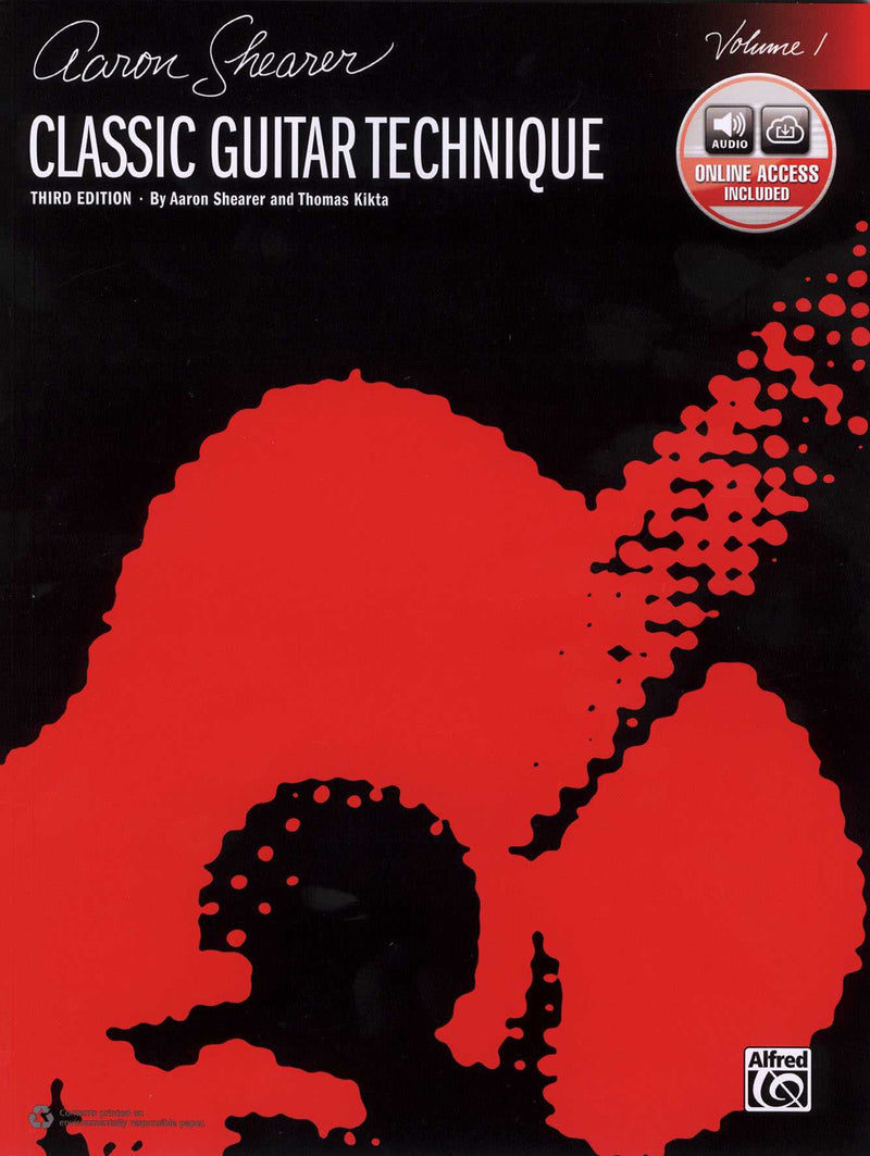 Aaron Shearer: Classic Guitar Technique, Third Edition