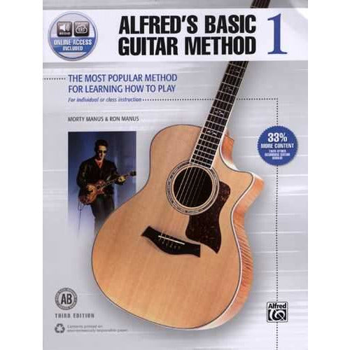 Alfred's Basic Guitar Method 1