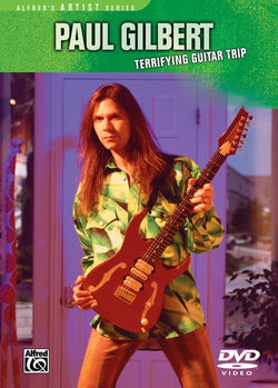DVD - Paul Gilbert - Terrifying Guitar Trip