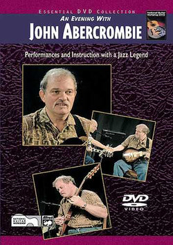 DVD-An Evening with John Abercrombie