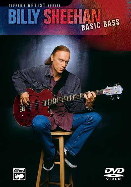 DVD - Billy Sheehan: Basic Bass