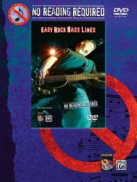 No Reading Required: Easy Rock Bass Lines