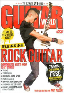 DVD - Guitar World: Beginning Rock Guitar