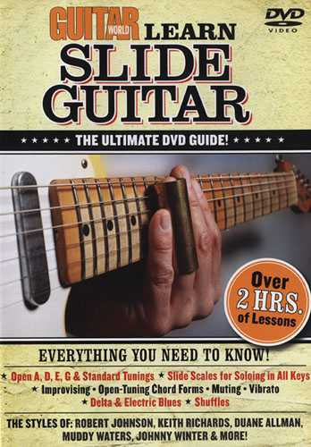 DVD - Guitar World: Learn Slide Guitar