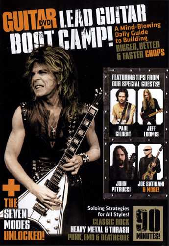 DVD - Guitar World: Lead Guitar Boot Camp!
