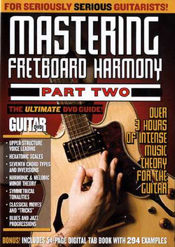 DVD - Guitar World: Mastering Fretboard Harmony, Part Two