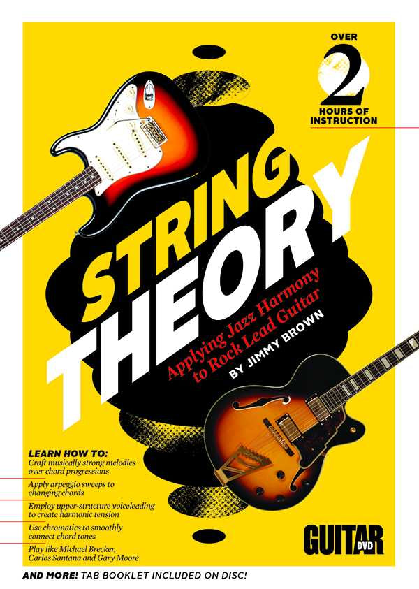 DVD - Guitar World: String Theory - Applying Jazz Harmony to Rock Lead Guitar