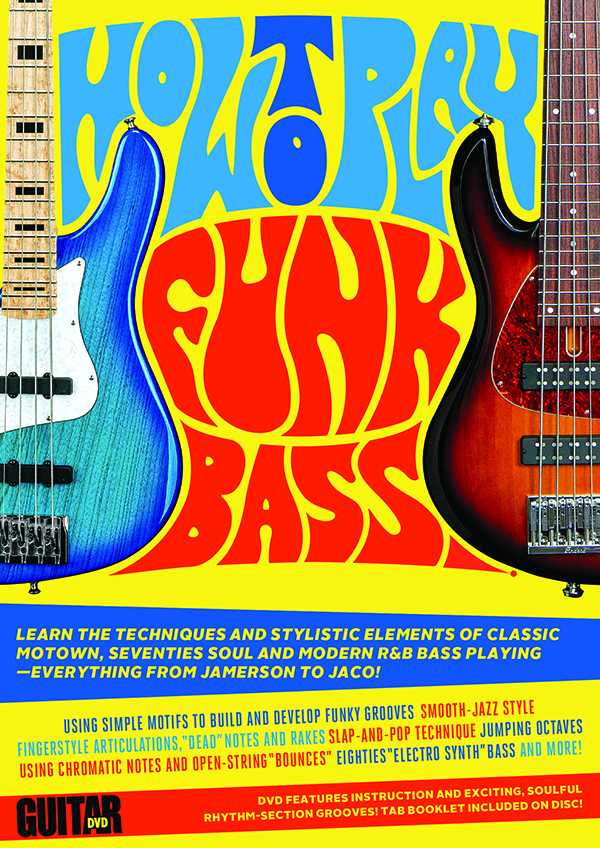 DVD - Guitar World: How to Play Funk Bass