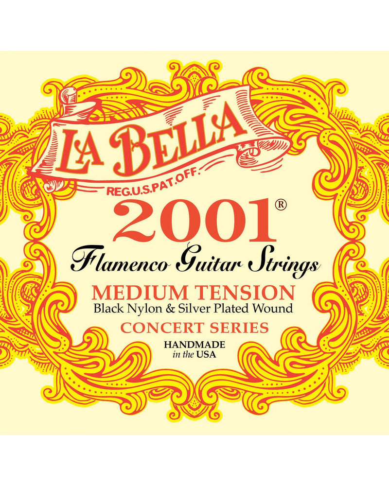 La Bella 2001 Series Medium Tension Flamenco Guitar Strings