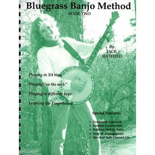 Bluegrass Banjo Method Book Two