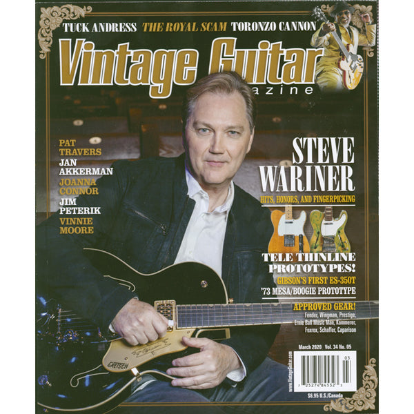 Vintage Guitar Magazine - March 2020