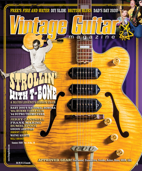 Vintage Guitar Magazine - Summer 2020