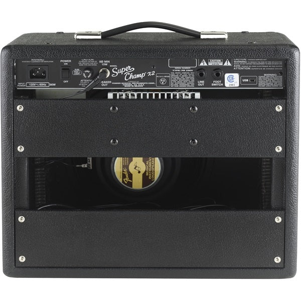 FENDER SUPER CHAMP X2 COMBO AMPLIFIER