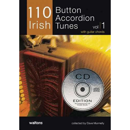 110 Irish Button Accordion Tunes, Vol. 1