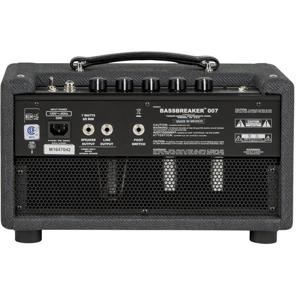 Fender Bassbreaker 007 Guitar Amplifier Head