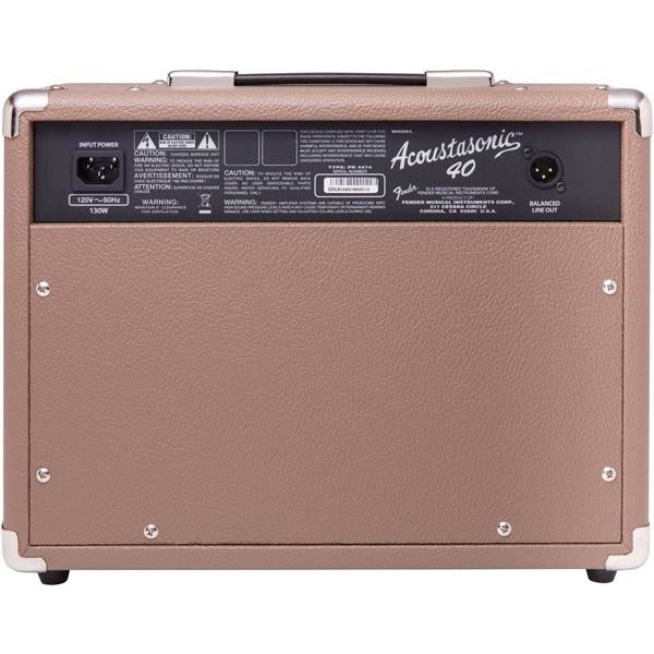 Fender Acoustasonic 40 Acoustic Combo Amplifier